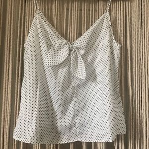 Dotted Top w/ Bow